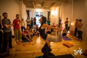 Taller de Acroyoga Multinivel Barcelona